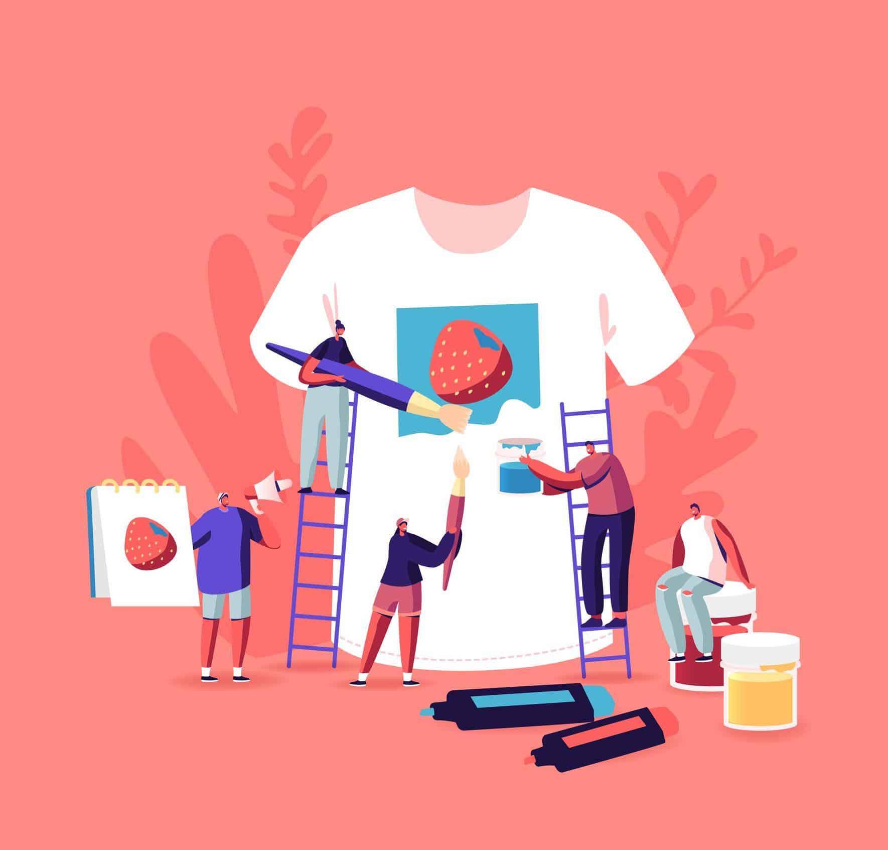 personnaliser les vêtements de ses employés