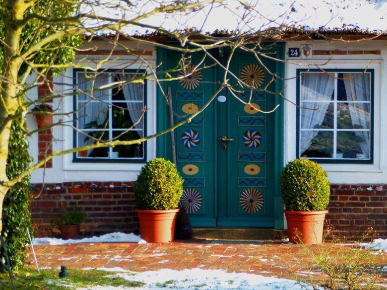 deco maison hiver