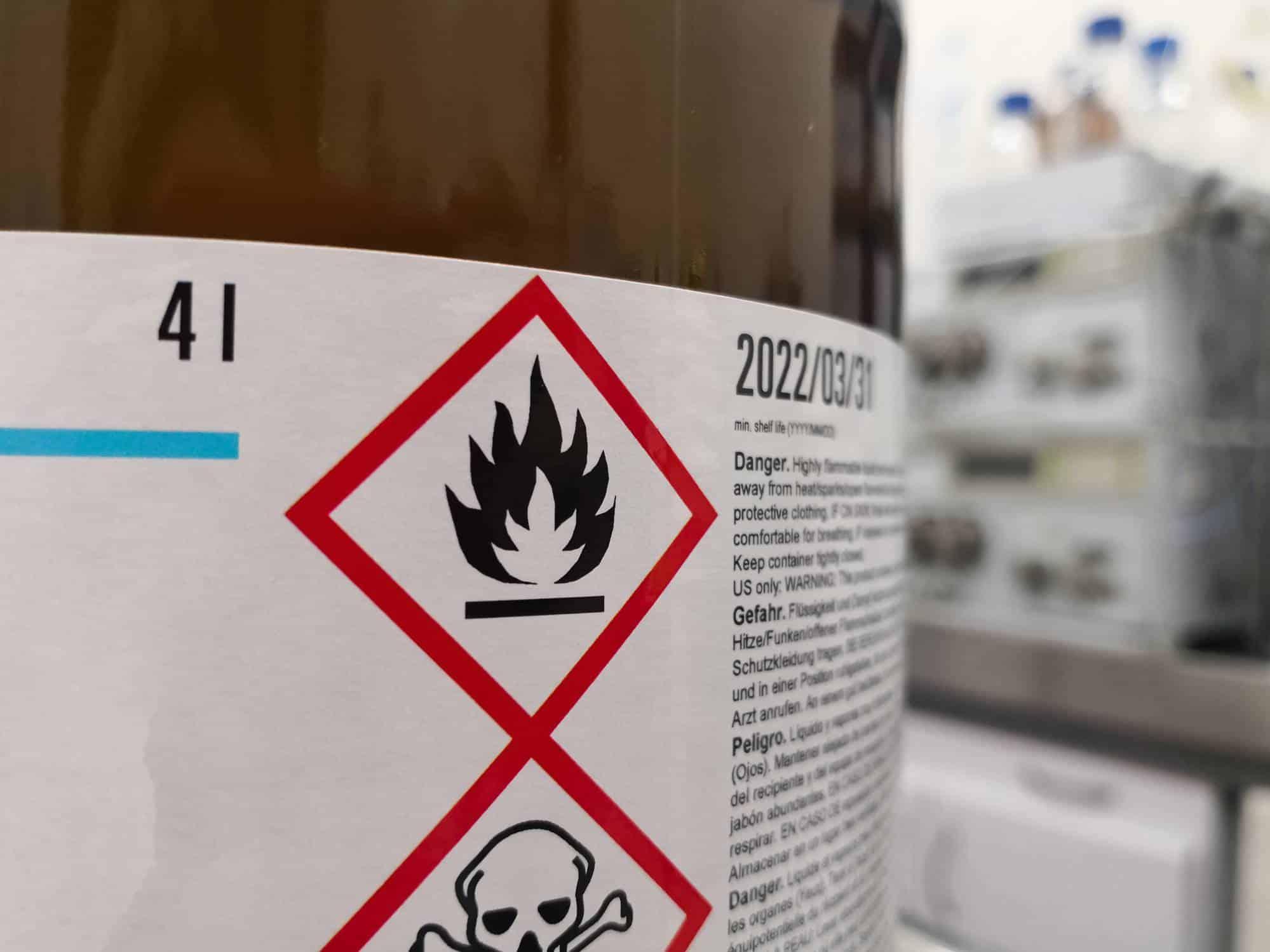 Rétention de produit polluant