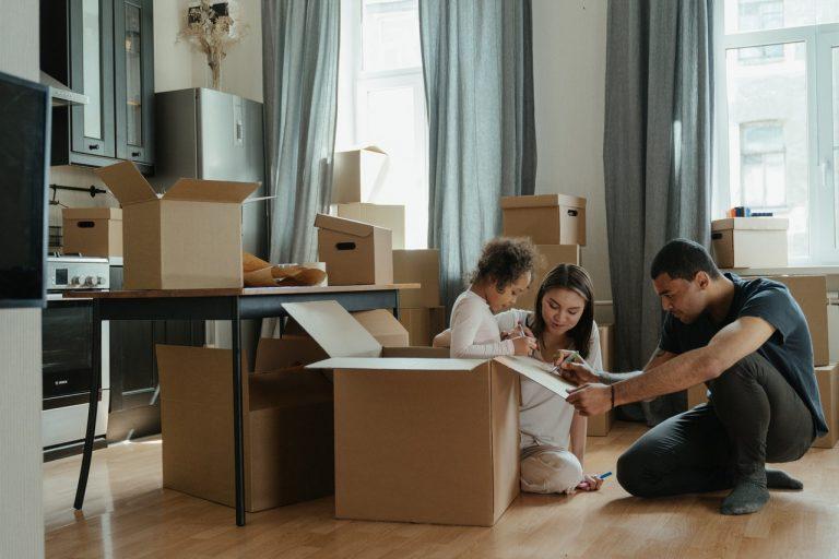 organisation déménagement