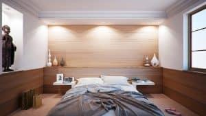 Chambre À Coucher, Lit, Appartement, Salle