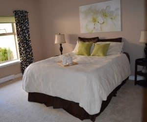 white, floor, interior, home, cottage, property, furniture, room, bedroom, decor, interior design, textile, design, bed, suite, duvet cover, bed sheet, bed frame